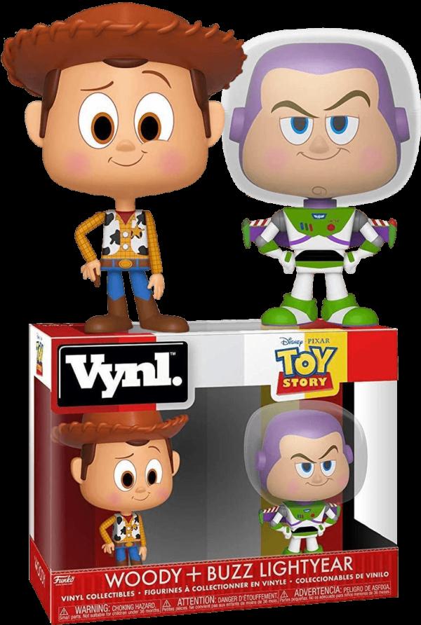 Funko Vynl. Toy Story : Woody + Buzz Lightyear 1