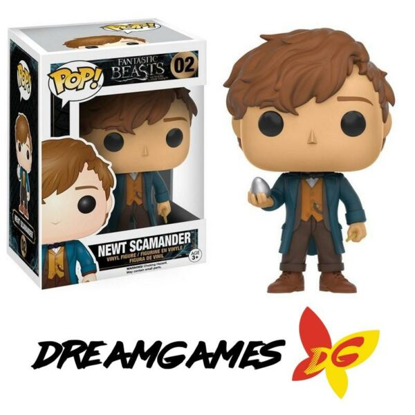 Figurine Pop Fantastic Beasts 02 Newt Scamander with Egg
