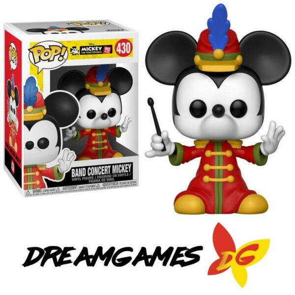 Figurine Pop Mickey 430 Band Concert Mickey