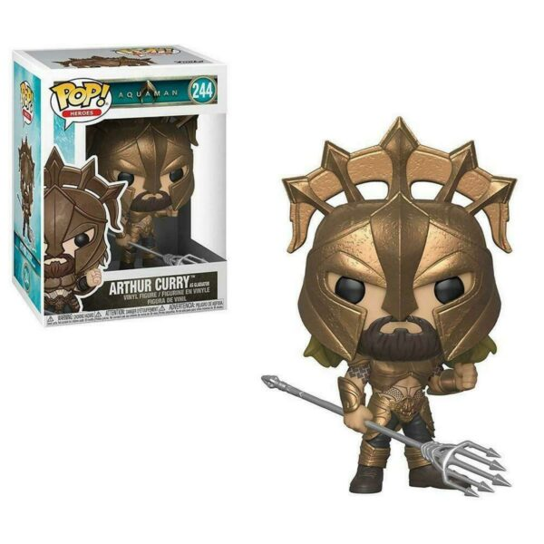 Funko PoP! Aquaman 244 ARTHUR CURRY as Gladiator 1