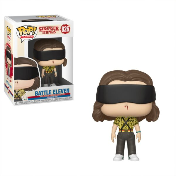 Funko Pop! Stranger Things 826 Battle Eleven S3 1