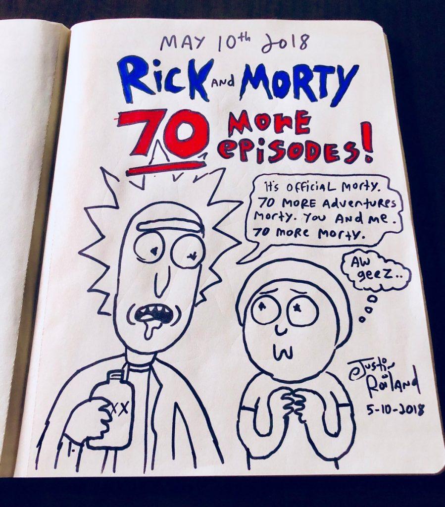 Rick et Morty Saison 4 ! 1