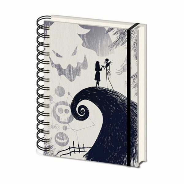 The Nightmare before Christmas - Carnet à spirales 1