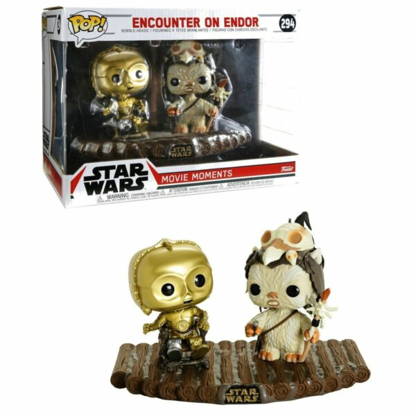 Funko Pop! Movie Moments C-3PO on throne (Not mint) 1
