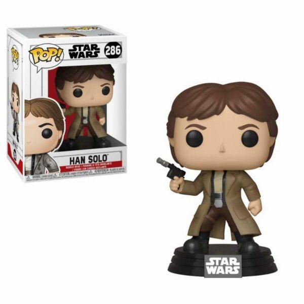 Funko Pop! Star Wars 286 Han Solo Endor 1