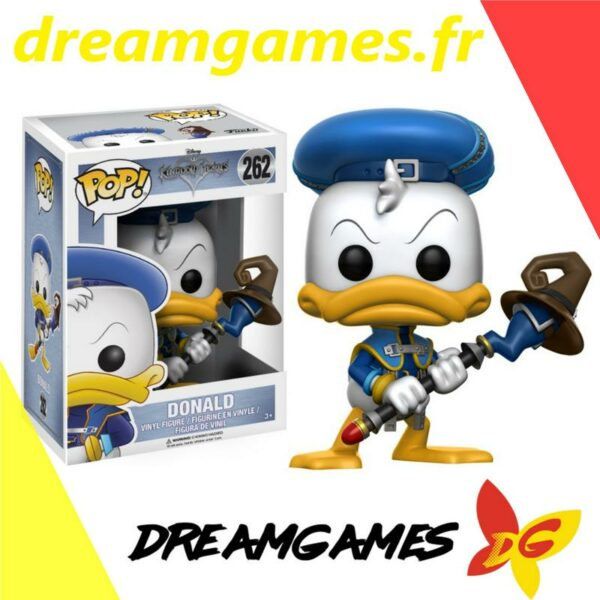 Figurine Pop Kingdom Hearts 262 Donald 1
