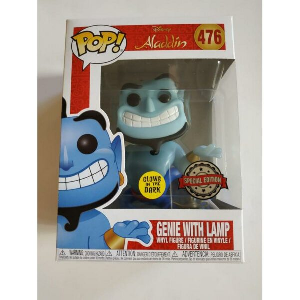 Funko Pop! Aladdin 476 GENIE with Lamp Glow 1