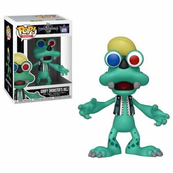 Funko Pop! Kingdom Hearts 3 409 Goofy Monster's Inc. 1