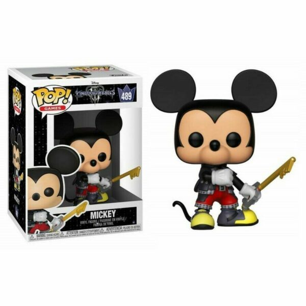 Funko Pop! Kingdom Hearts III 489 Mickey 1