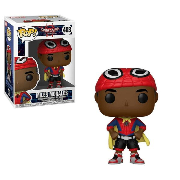 Funko Pop! Spider-Man into the spiderverse 403 Miles Morales 1