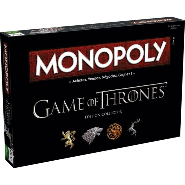 Monopoly Game of Thrones (Edition Collector) 1