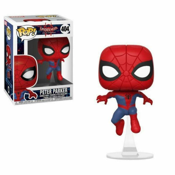 Funko Pop! Spider-Man into the spiderverse 404 Peter Parker 1