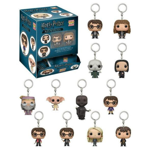 Mystery Pocket Pop! Keychain Harry Potter 1