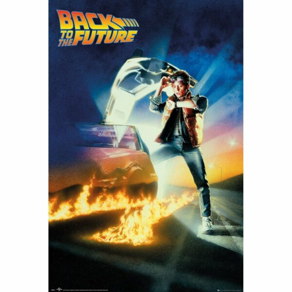 Poster Back to the Future 61 x 91 cm 1