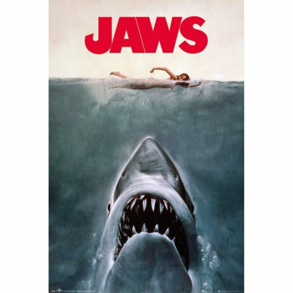 Poster Jaws 65 x 91 cm 1