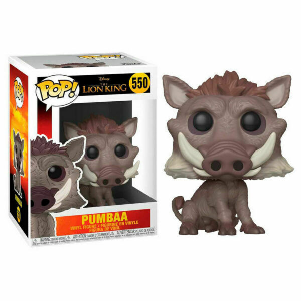 Funko Pop The Lion King 550 Pumbaa 1