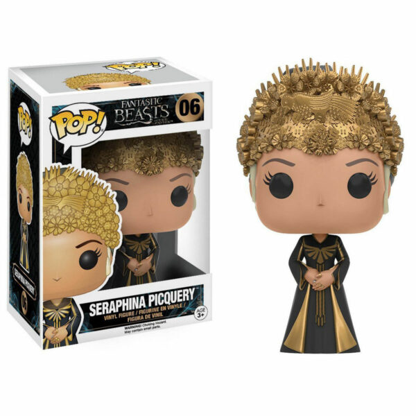 Figurine Pop Fantastic Beasts 06 Seraphina Picquery VAULTED 1