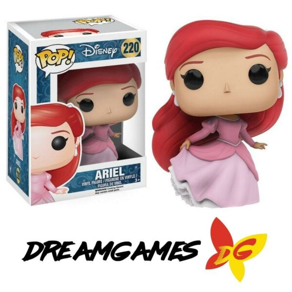 Figurine Pop Disney The Little Mermaid 220 Ariel Dancing
