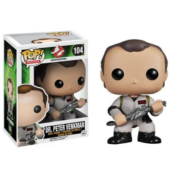 Funko Pop! Ghostbusters 104 Dr Peter Venkman 1