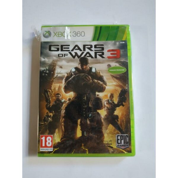 Gears of War 3 Xbox 360 1