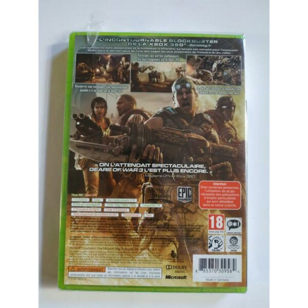 Gears of War 3 Xbox 360 2