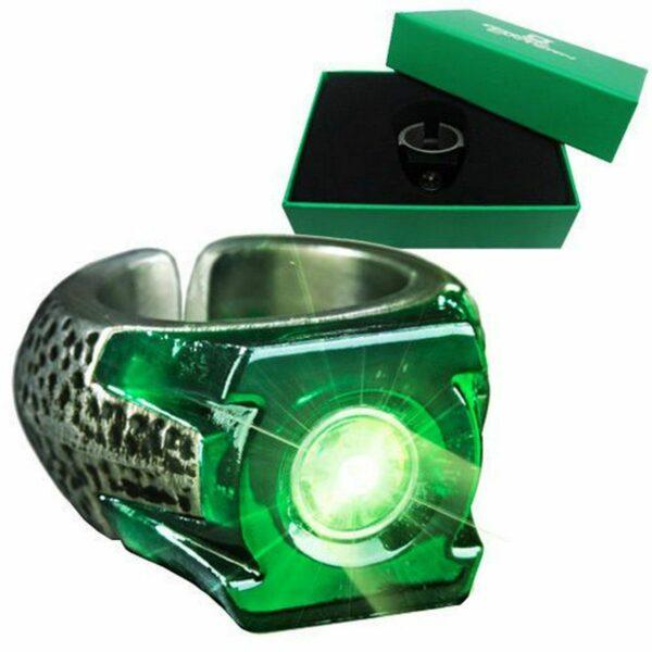 Green Lantern Bague lumineuse 2
