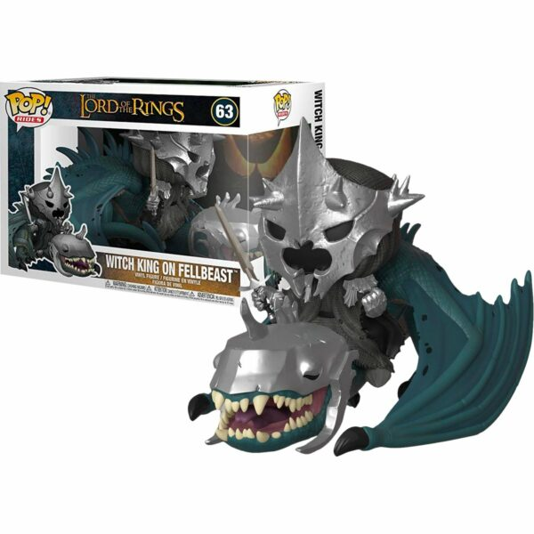 Funko Pop! The Lord of the Rings 63 Witch King on Fellbeast 1