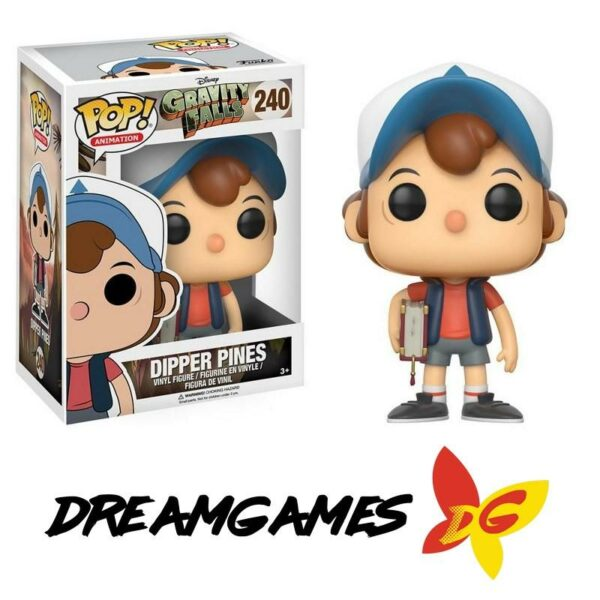 Figurine Pop Gravity Falls 240 Dipper Pines