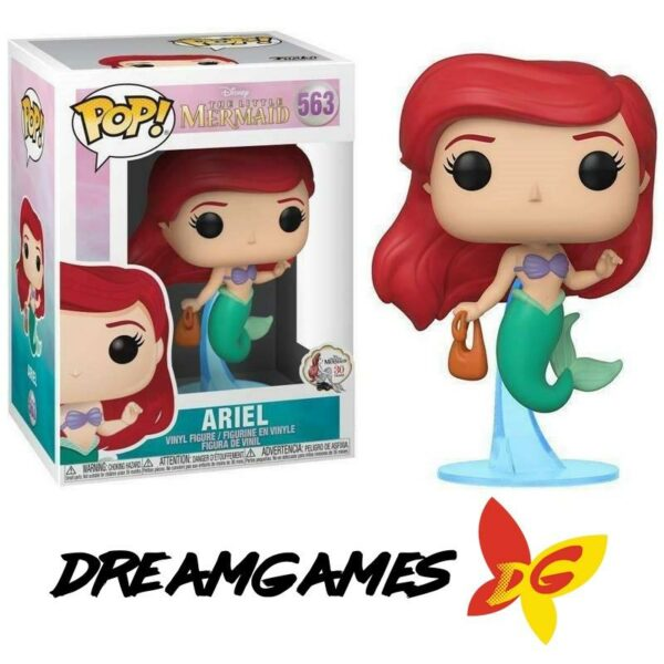 Figurine Pop The Little Mermaid 563 Ariel with Bag