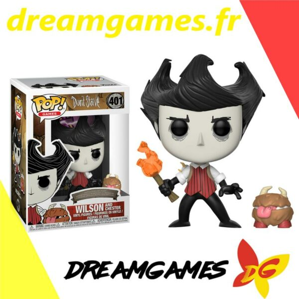 Figurine Pop Don't Starve 401 Wilson and Chester 1