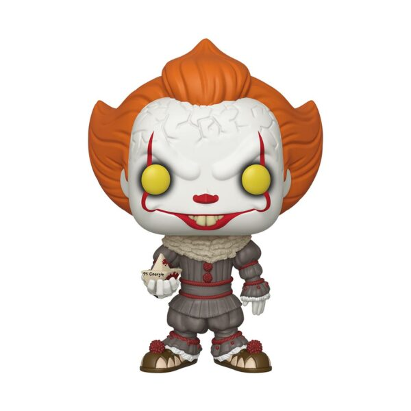 """Funko Pop! IT 786 Pennywise with boat Oversized (10"""") 1"""