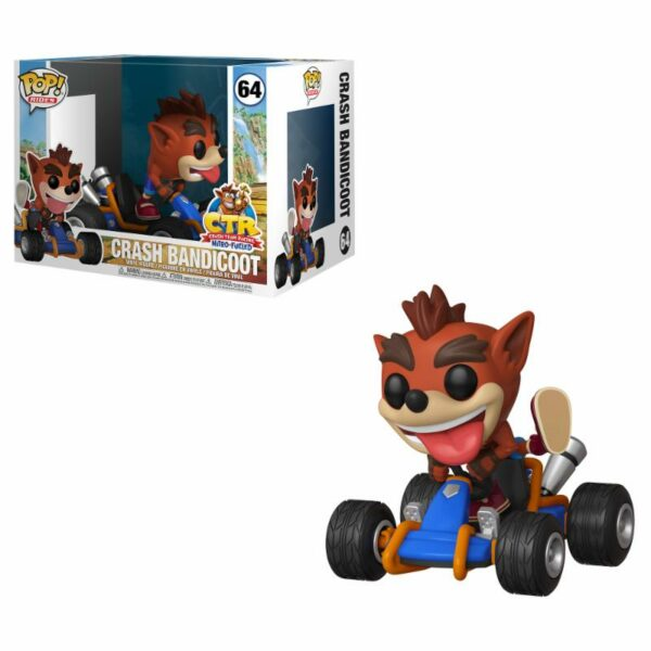 "Funko Pop! Crash Bandicoot ""Rides"" 64 1"