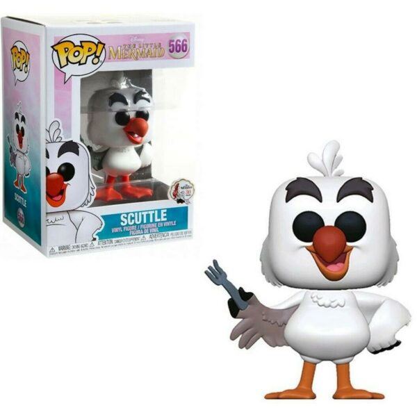 Figurine Pop the Little Mermaid 566 Scuttle (with fork) 1
