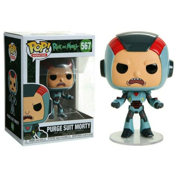Funko Pop! Rick and Morty 567 Purge suit Morty 1