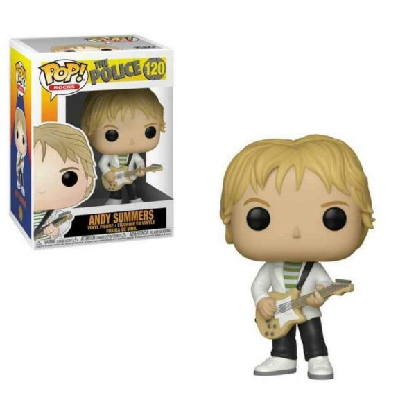 Funko Pop! The Police 120 Andy Summers 1