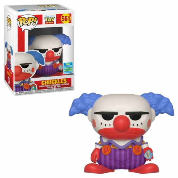Funko Pop Toy Story 561 Chuckles SDCC 2019 1