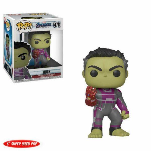 """Funko Pop! Avengers Endgame 478 Hulk 6"""" 1"""