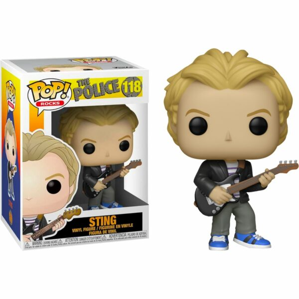Funko Pop! The Police 118 Sting 1