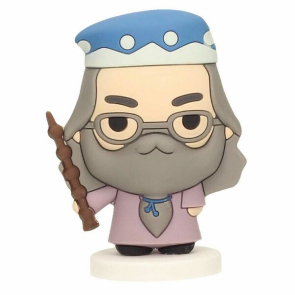 Figurine SD Toys Harry Potter Dumbledore Rubber Caoutchouc 6cm