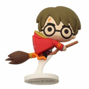 Figurine SD Toys Harry Potter Quidditch Rubber Caoutchouc 6cm