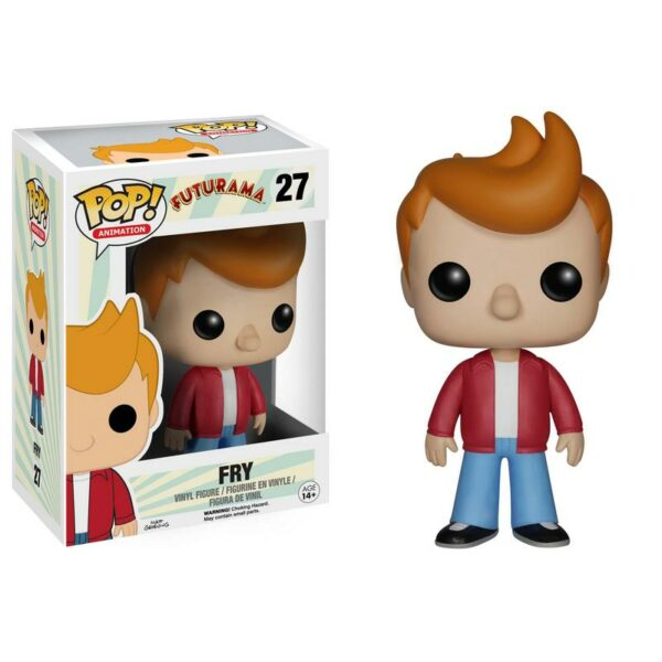 Funko Pop! Futurama 27 Fry (Not mint) 1