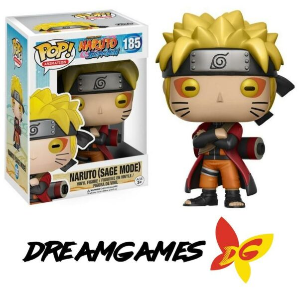 Figurine Pop Naruto 185 Naruto Sage Mode