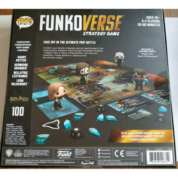 Funkoverse Strategy Game Harry Potter 02
