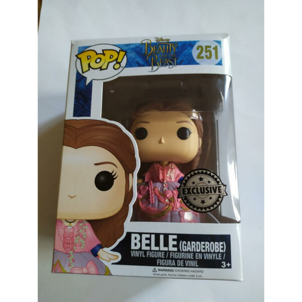 Funko Pop Disney 251 Belle Garderobe (Not mint) 1