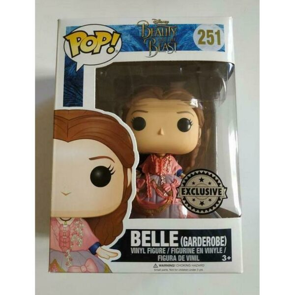 Funko Pop Disney 251 Belle Garderobe