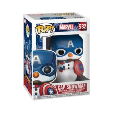Funko Pop Marvel Holiday 532 Cap Snowman