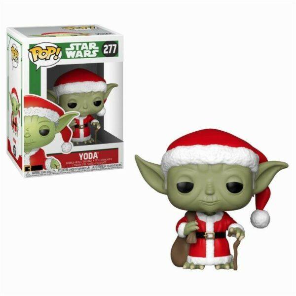 Funko Pop Star Wars 277 Santa Yoda