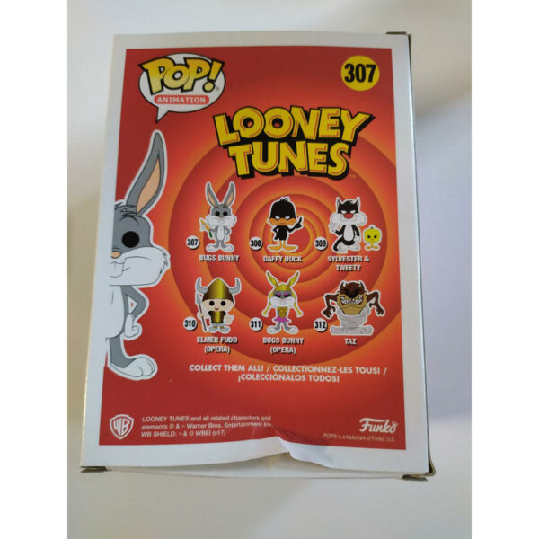 Funko Pop Looney Tunes 307 Bugs Bunny (Not mint) 3