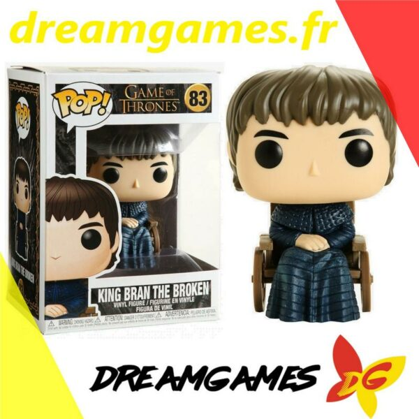 Figurine Pop Game of Thrones 83 King Bran 1
