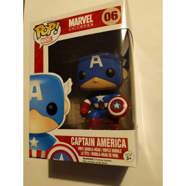 Funko Pop Marvel 06 Captain America 02